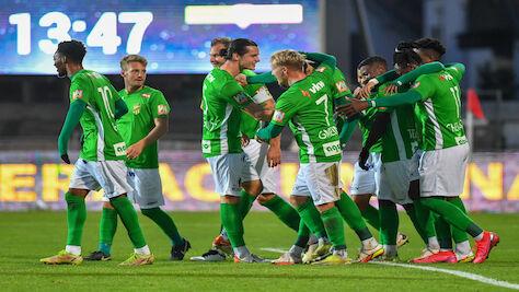 Zweitliga-Leader Lustenau gnadenlos: 6:0 gegen Kapfenberg